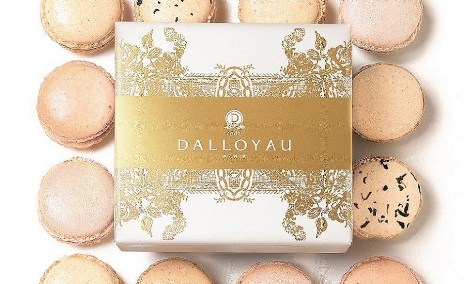 Coffret Macarons DALLOYAU │ © V. Rol, Courtesy of DALLOYAU