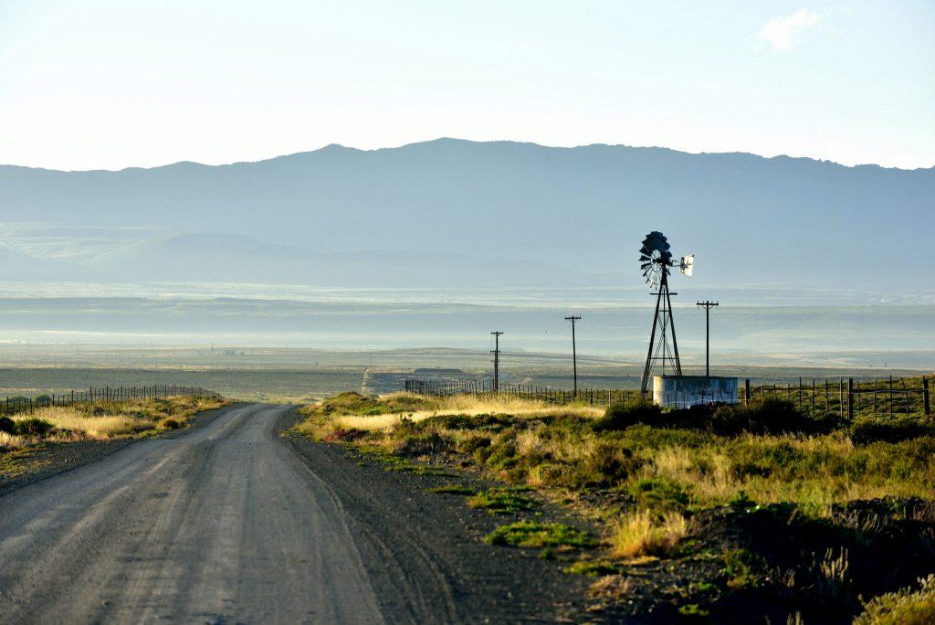 The road to Nieu Bethesda