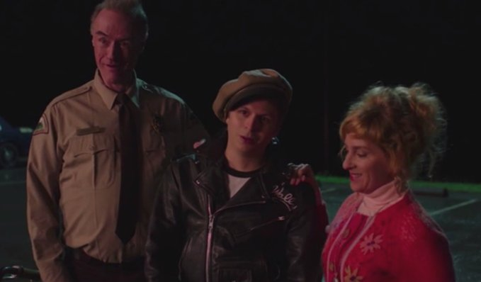 Andy (Harry Goaz), Wally (Michael Cera), and Lucy (Kimmy Robertson) | © Suzanne Tenner/Showtime