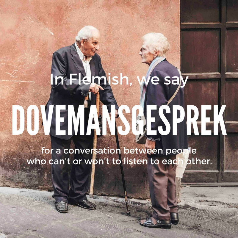 dovemansgesprek-dialogue of the deaf | © Culture Trip/Nana Van de Poel