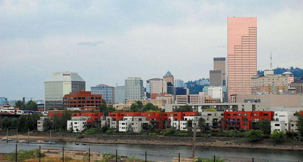 Portland, Oregon Cityscape   © Steve Morgan/Wikimedia