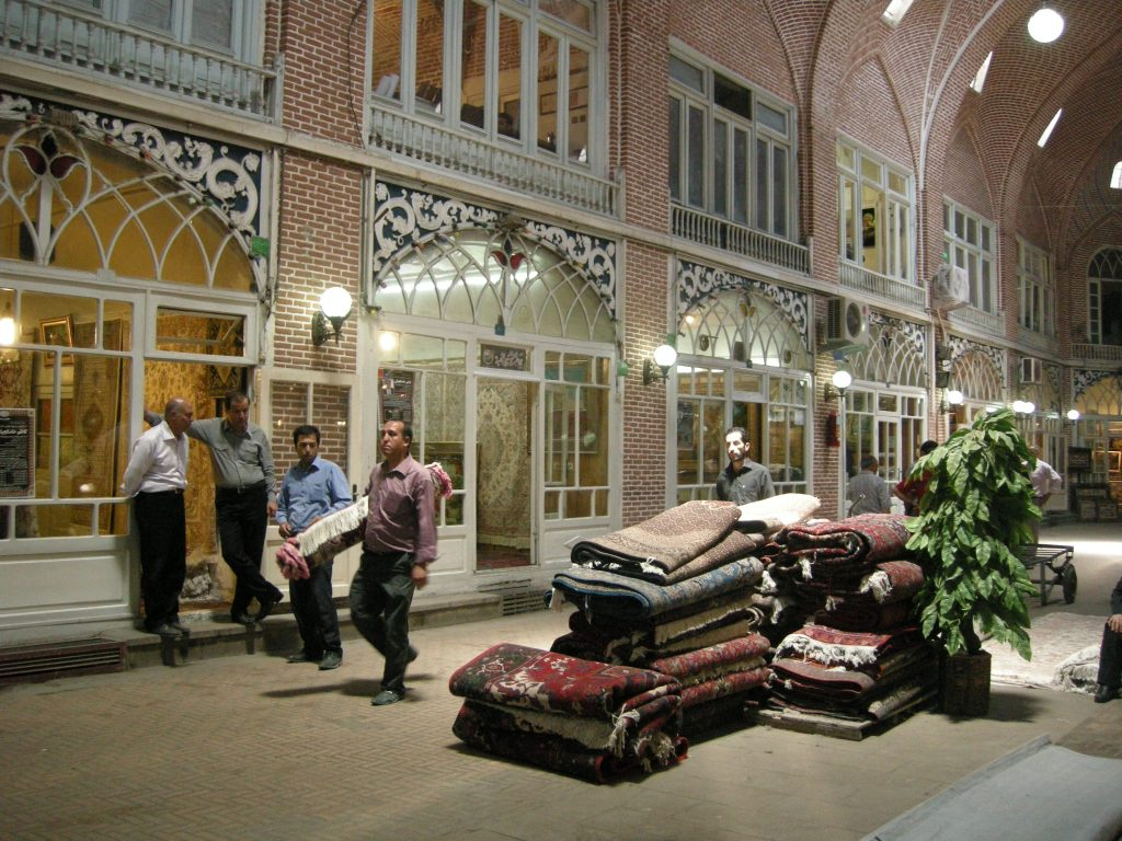 Tabriz Bazaar is a great place to see the modern-day rug industry | © Pontia Fallahi