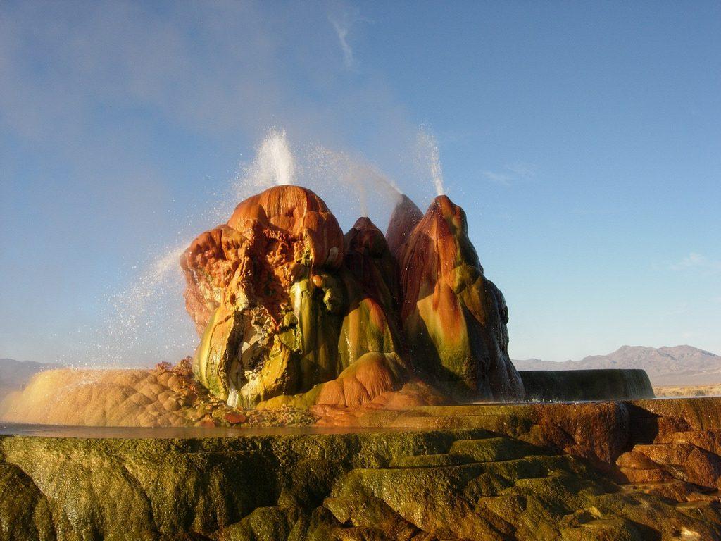 Fly Geyser in Nevada | © Ken Lund / Flickr