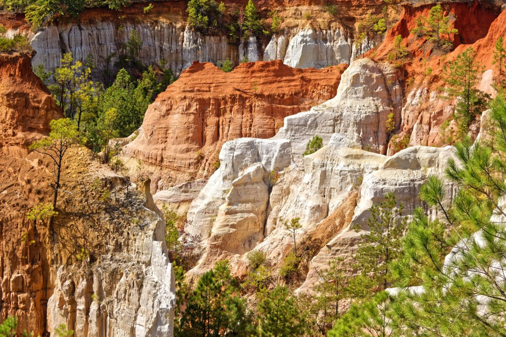 Providence Canyon | © c_live_lee / Flickr