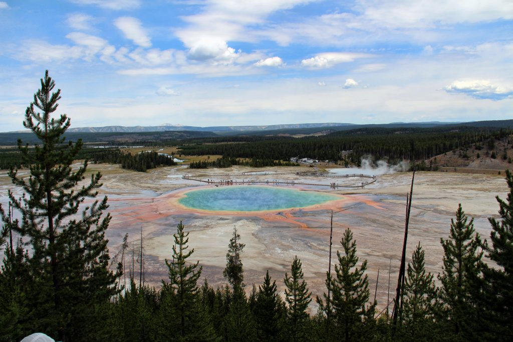 Grand Prismatic Spring | © Kyla Duhamel / Flickr