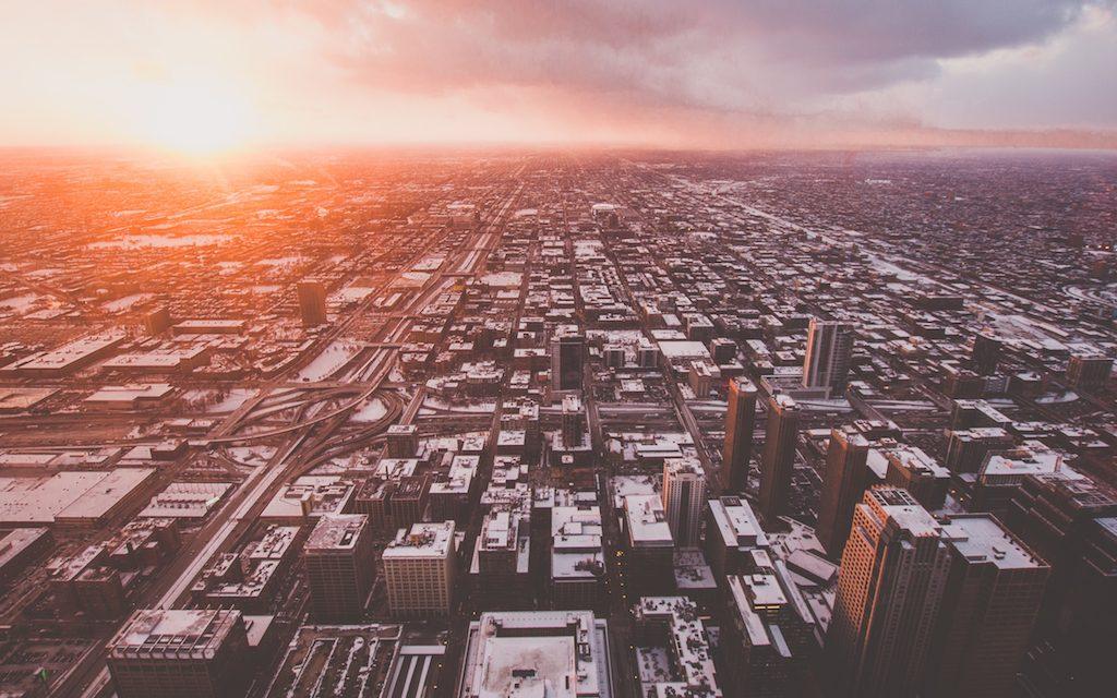 Chicago sunset   © Ferdinand Stöhr/Unsplash