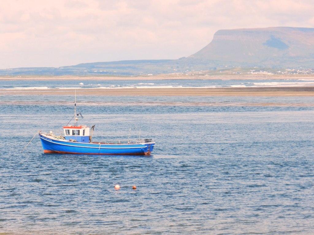 Ben Bulben viewed across Sligo Bay | © Seamus Feeney / Geograph