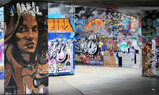 South Bank grafitti