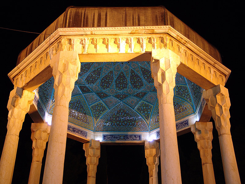 Tomb of Hafez | © Hamid Parsi / Wikimedia Commons