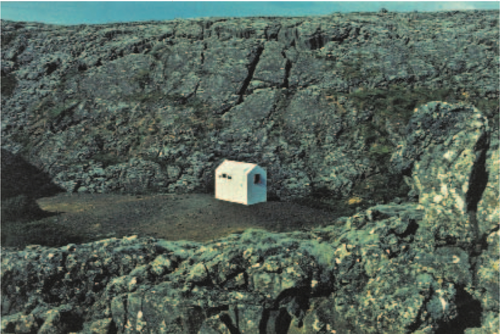 Hreinn Friðfinnsson, House Project, 1974 | Courtesy of the artist and i8 Gallery, Reykjavík