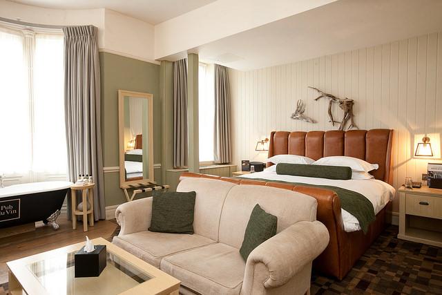 Room at Hotel du Vin | Courtesy of Hotel du Vin