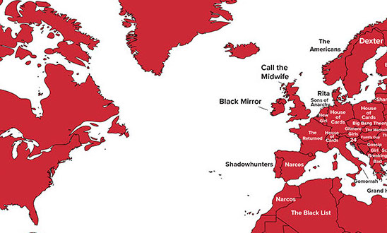 This map shows the most popular netflix show in the world and its this map shows the most popular netflix show in the world and its not what you think gumiabroncs Images