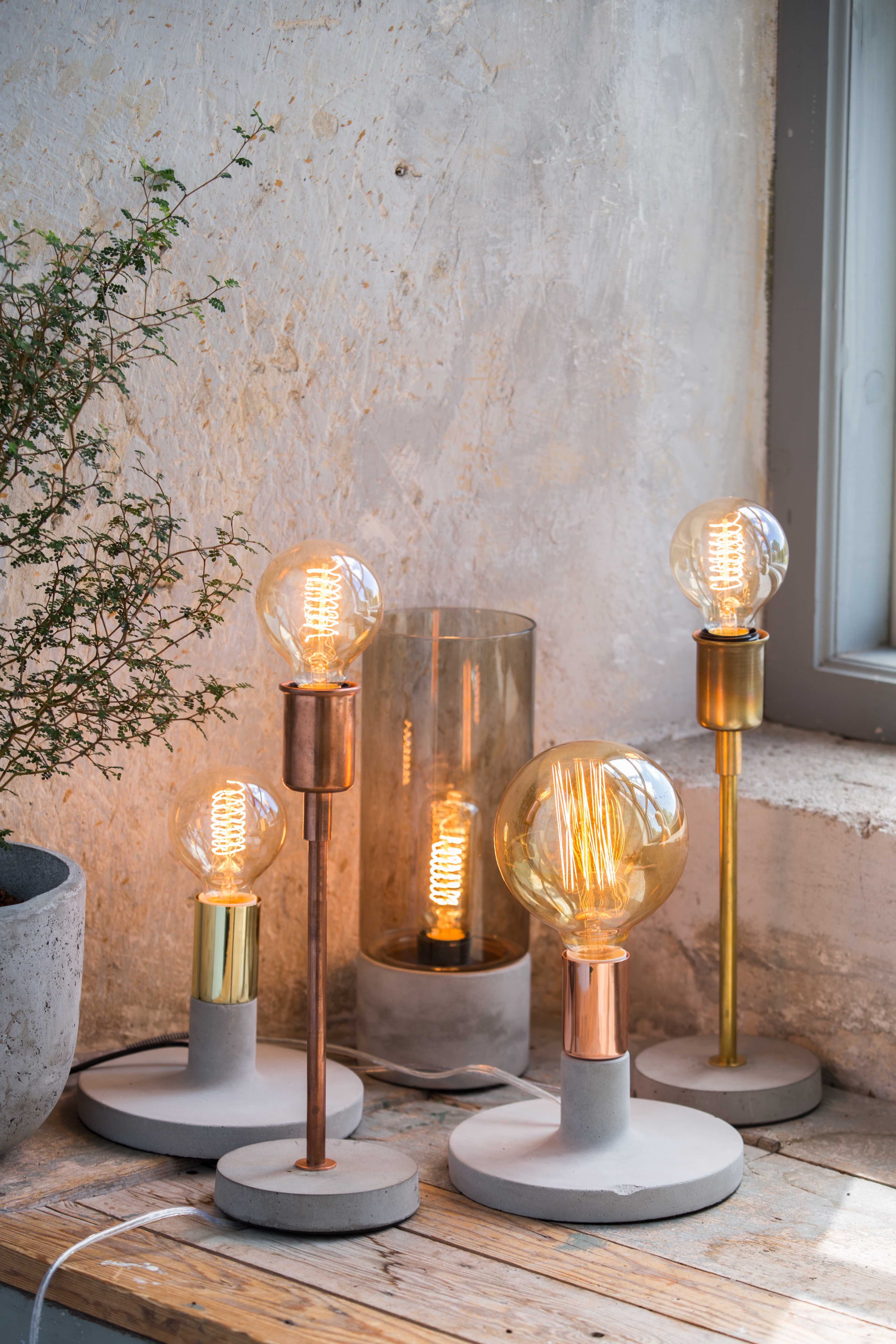 Hugo Linda and Albin Lamps by Abode Living | © Abode Living
