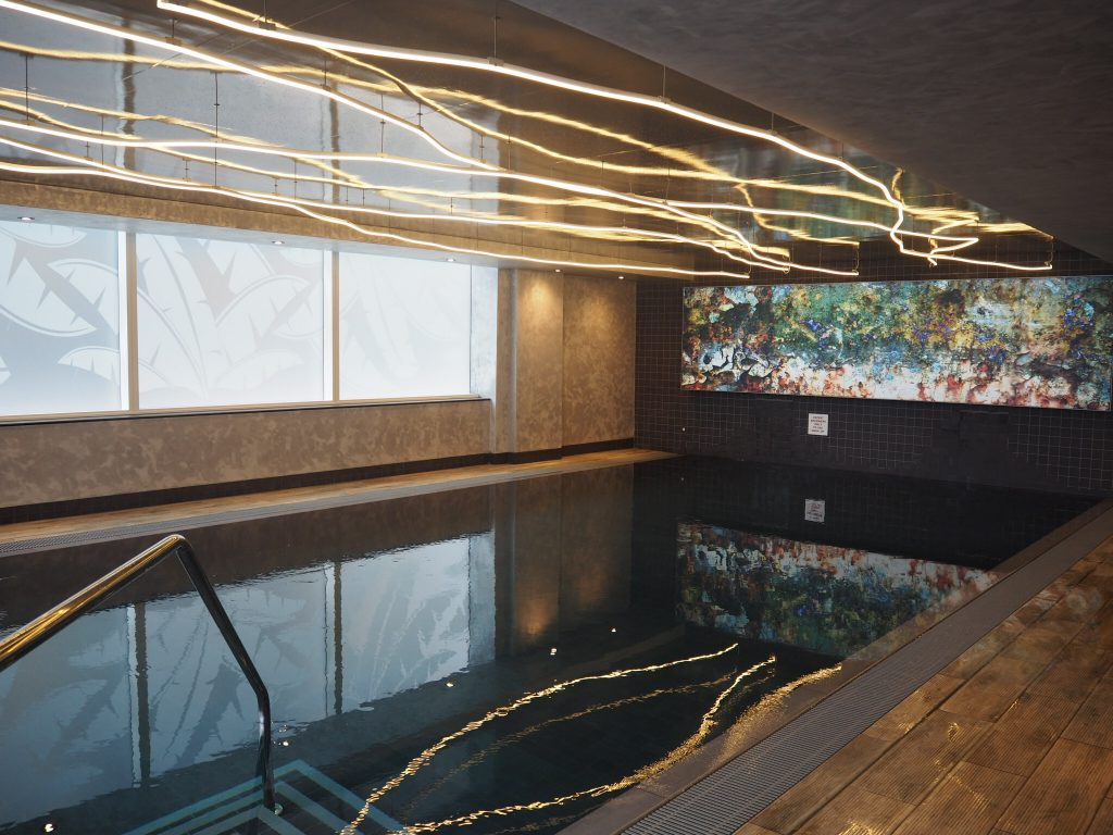 Relax in the subterranean swimming pool and sauna | © Culture Trip