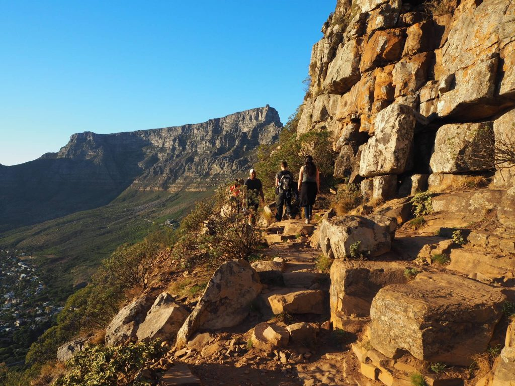 The walk up Lion's Head peak | © Culture Trip