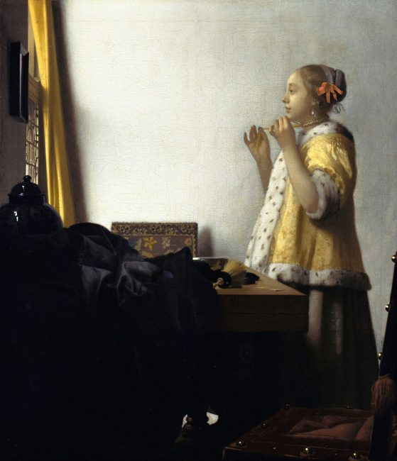Woman with a Pearl Necklace | Jan Vermeer van Delft / Wikimedia Commons