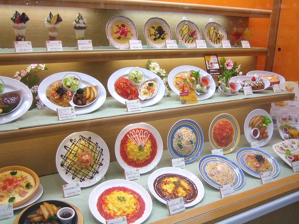 Japanese food art | Lambroso / Wikimedia Commons