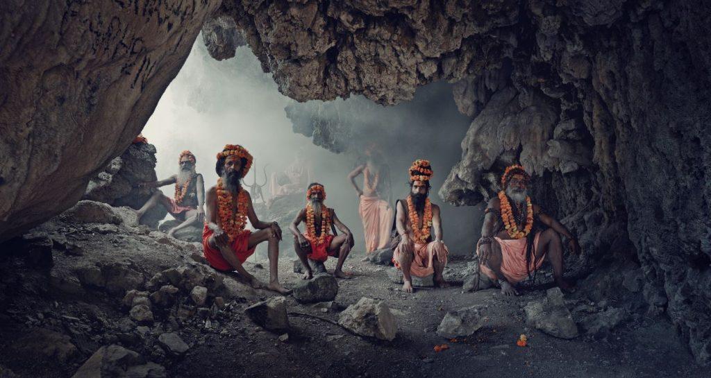 Jimmy Nelson, XXIV 1, Sadhus, Haridwar, India, 2016   © Jimmy Nelson and courtesy of Bryce Wolkowitz Gallery