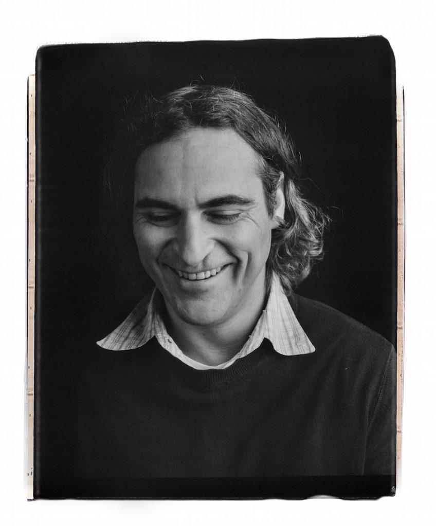 Joaquin Phoenix Polaroid 2013 | © Myrna Suarez