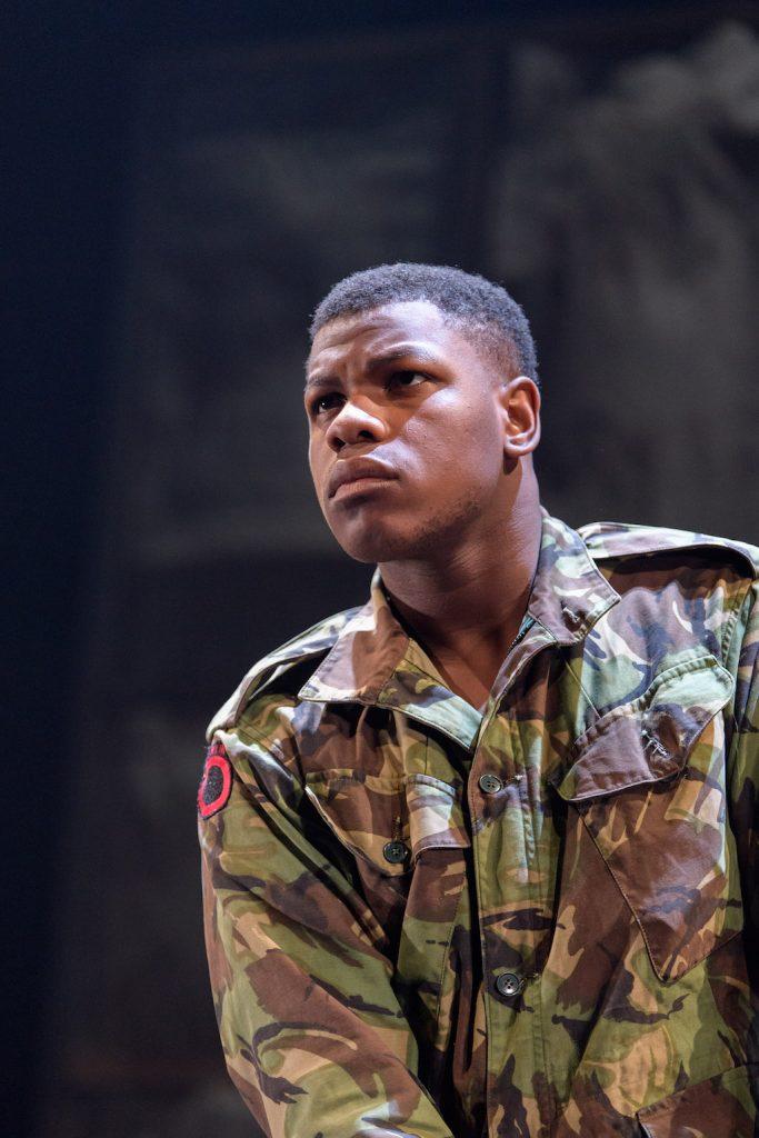 John Boyega as Woyzeck | © Old Vic