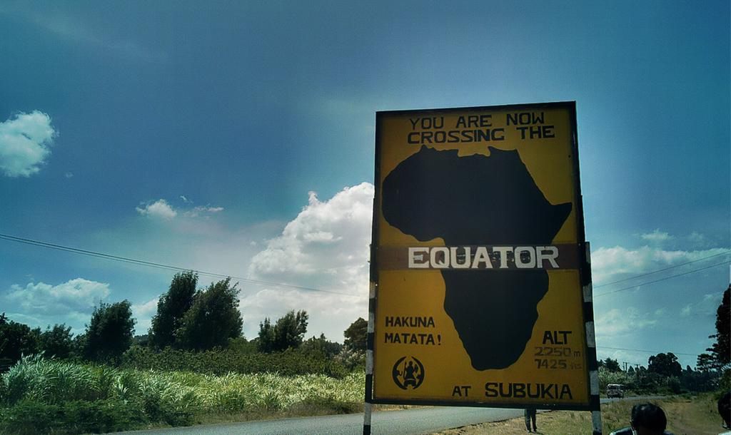 Passing through the equator   © Henry Bergius/ Flickr