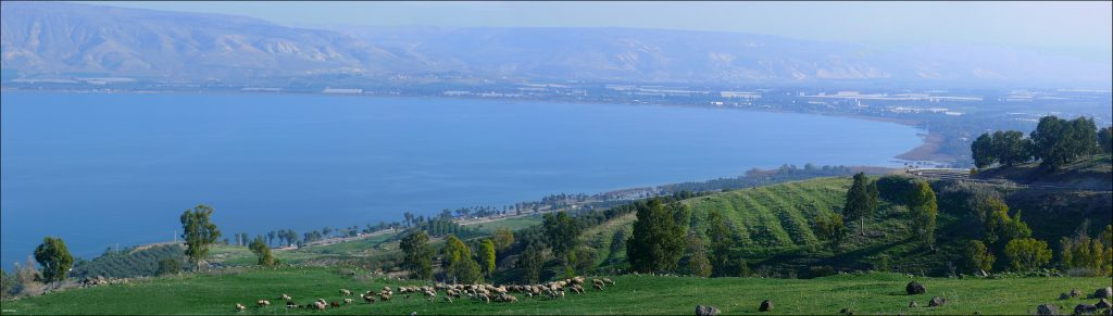 Panoramic view of Lake Kinneret (the Sea of Galilee), Israel | © Zachi Evenor / Flickr