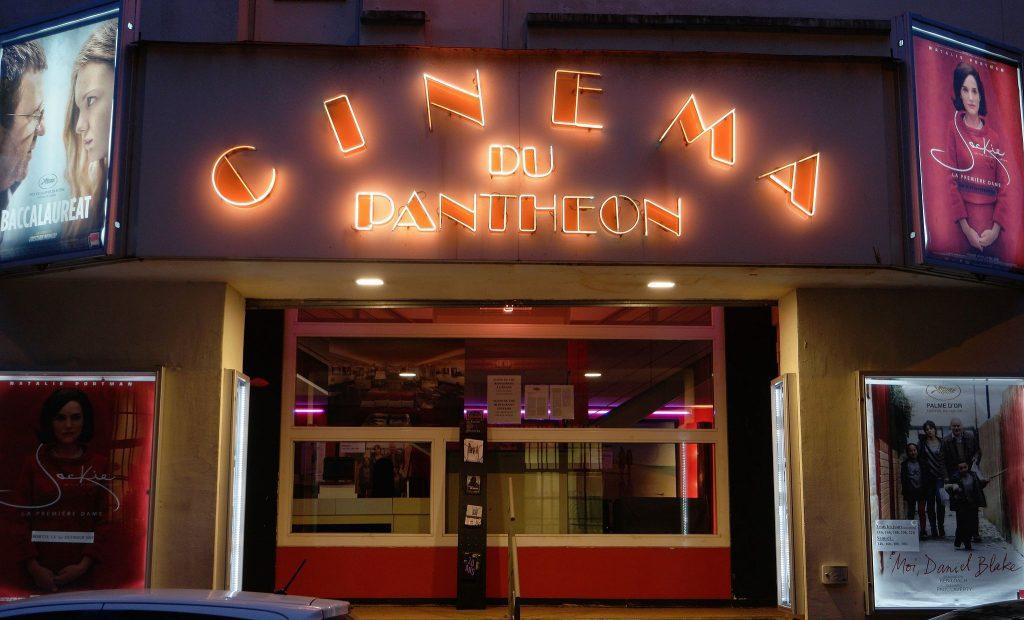 Le Cinéma du Panthéon │© Fæ / Wikimedia Commons