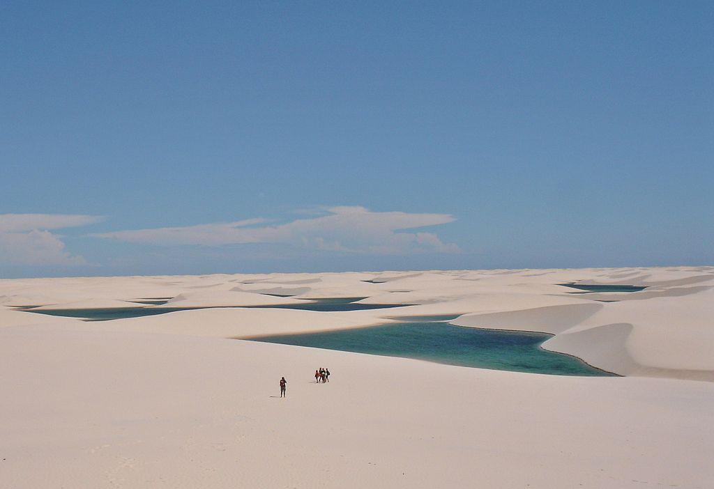 Lençóis Maranhenses National Park |© Vitor 1234/WikiCommons