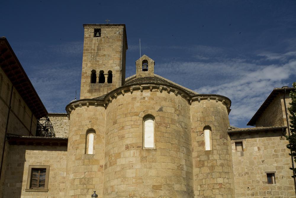 Leyre Monasterio Navarra | ©PMRMaeyaert / Wikimedia Commons