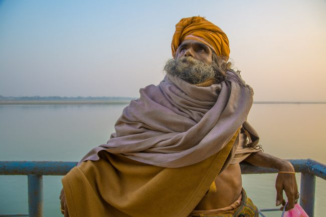 A sadhu in Varanasi | © Souleyman Messalti