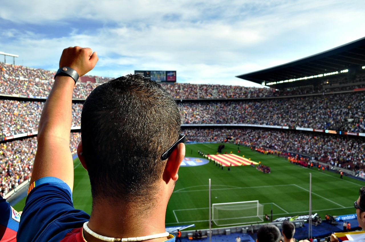 Join the crowd at the Camp Nou stadium CC0 Pixabay