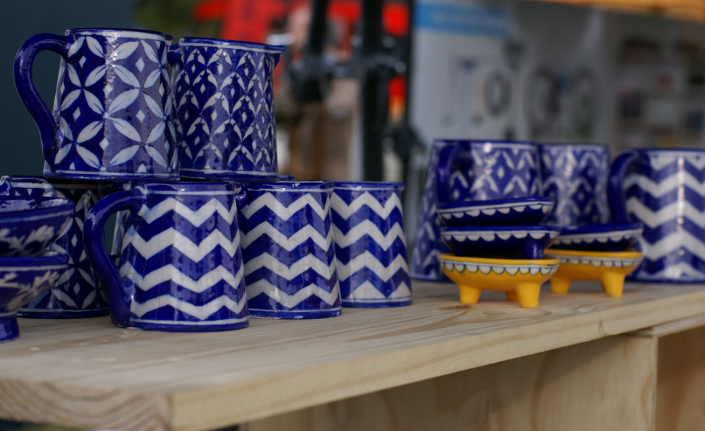 Ceramics at the Linden Market