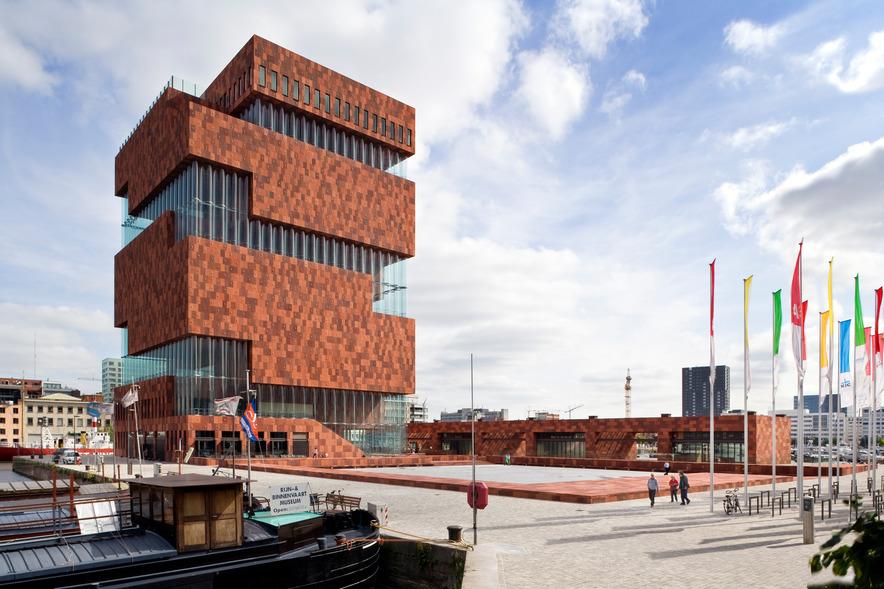 MAS | © Sarah Blee - Neutelings Riedijk Architecten / courtesy of Visit Antwerp