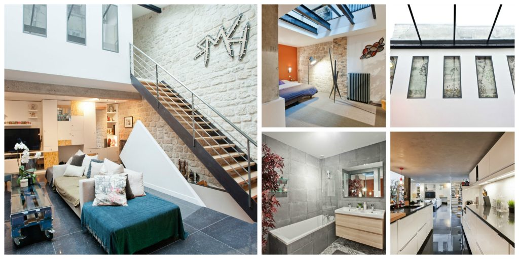Massive loft with screening room in La Villette │© Courtesy of Michael / Airbnb