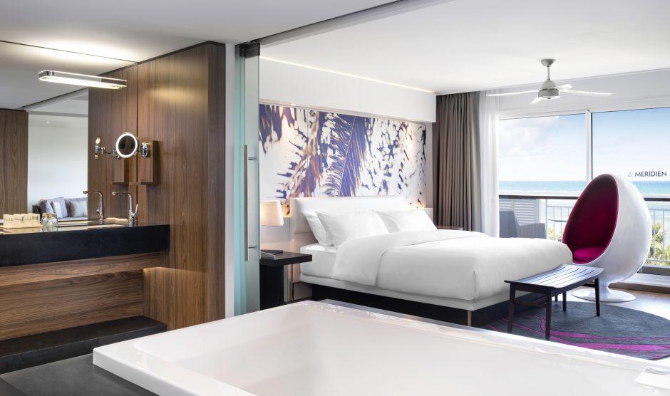 Resort suite at Le Meridien Noumea