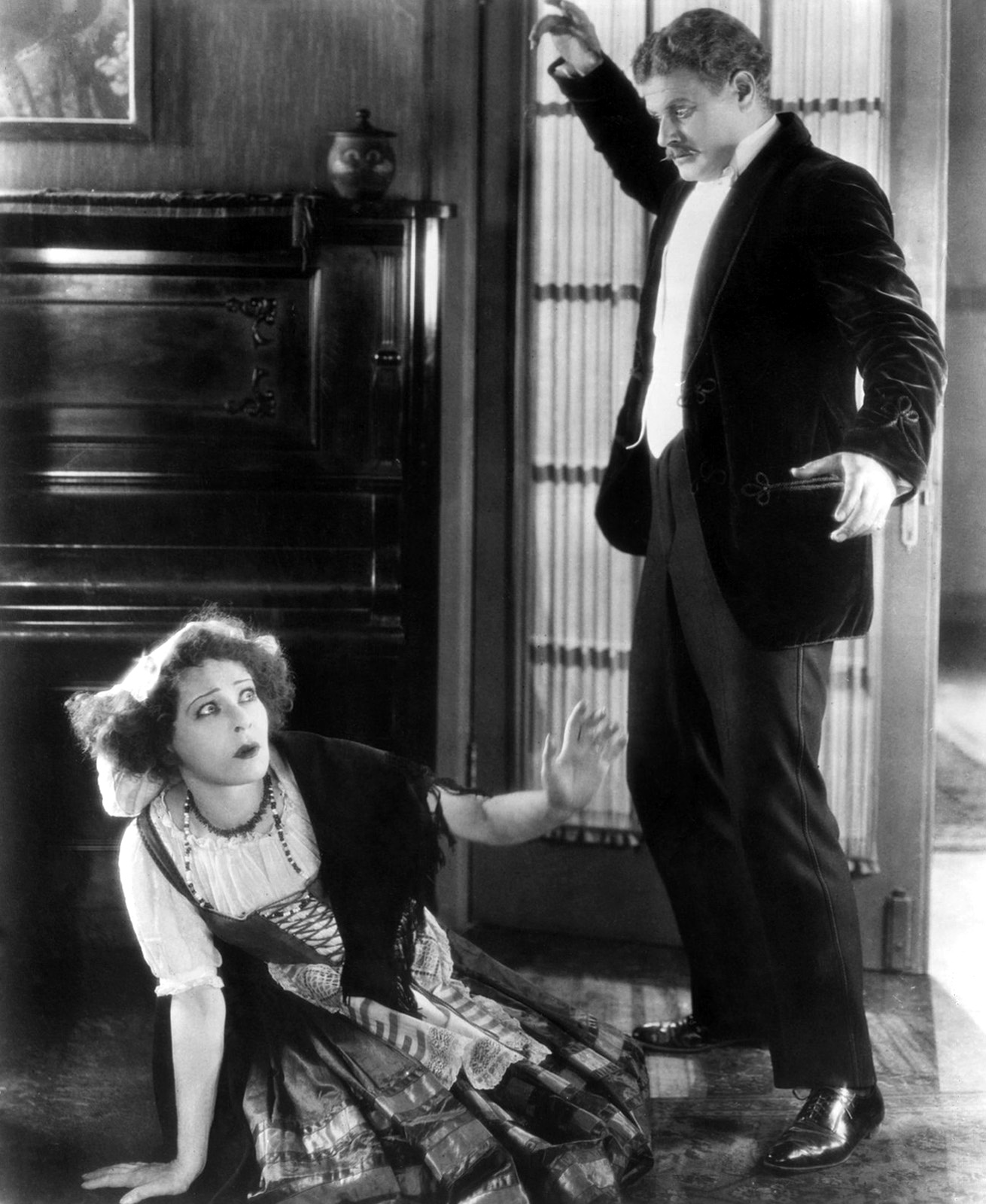 the second coming of nora helmer self liberating heroine of a  alla nazimova and alan hale in the 1922 film adapted by nazimova and directed by her