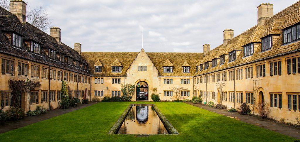 Nuffield College in Oxford | © Martijn van Sabben/Flickr