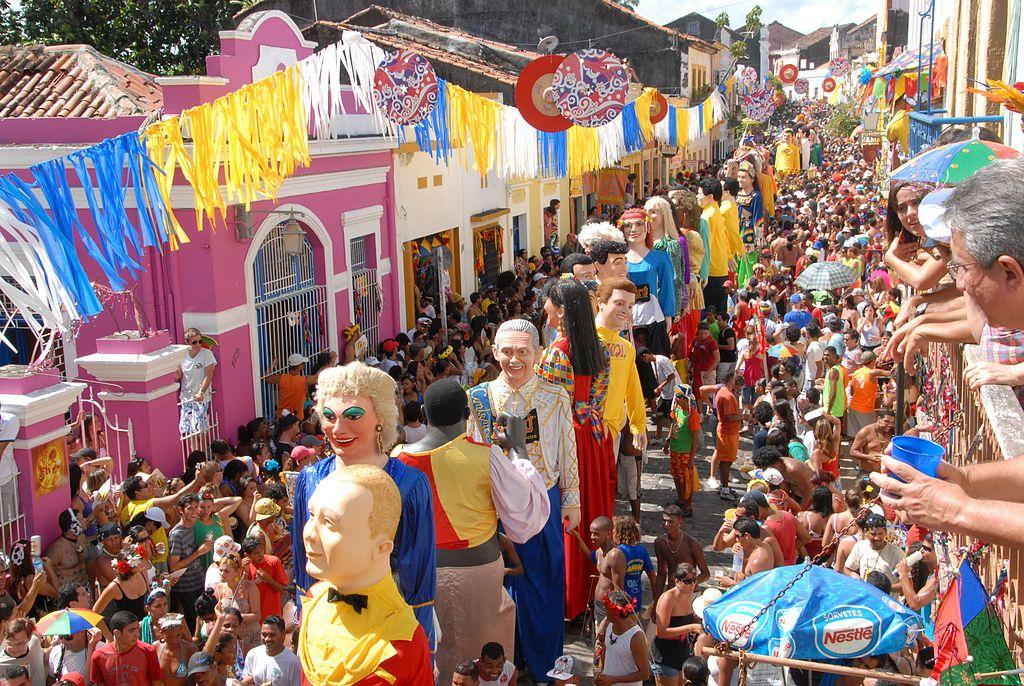 Carnival in Olinda |©Prefeitura de Olinda/WikiCommons