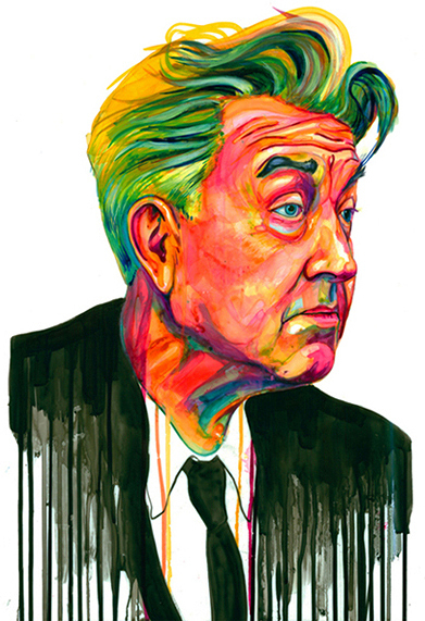 David Lynch Portrait | Courtesy of Jordan Domont