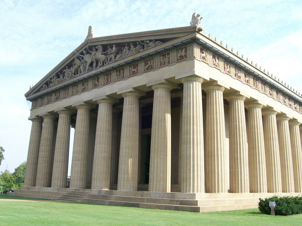the parthenon nashville s classic architecture In athens, greece and in centennial park in nashville, tennessee  the history,  architecture, and sculpture of the magnificent marble edifice by analyzing the key   classical roots of athens's innovative civilization, but it also attempts to.