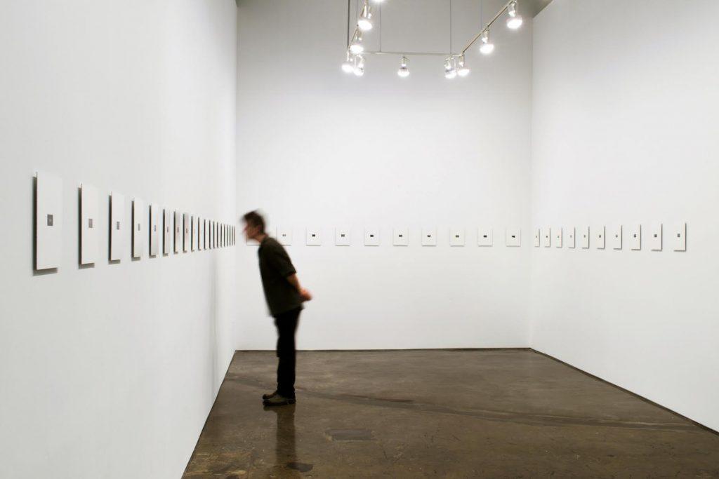 Julio Grinblatt's Pasillos on display at Minus Space gallery | Courtesy of Julio Grinblatt