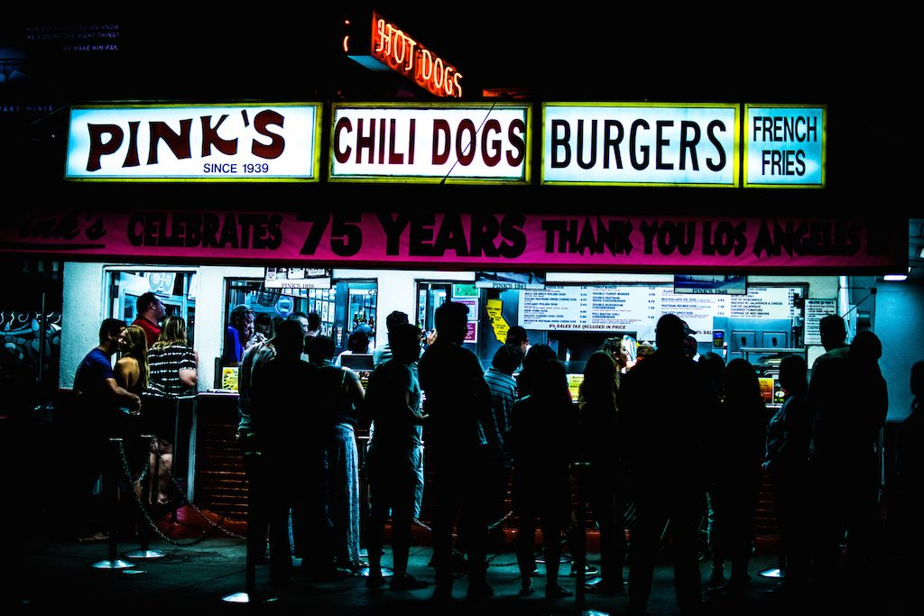Pink's Hot Dogs | © Siavash Ghadiri Zahrani / Flickr