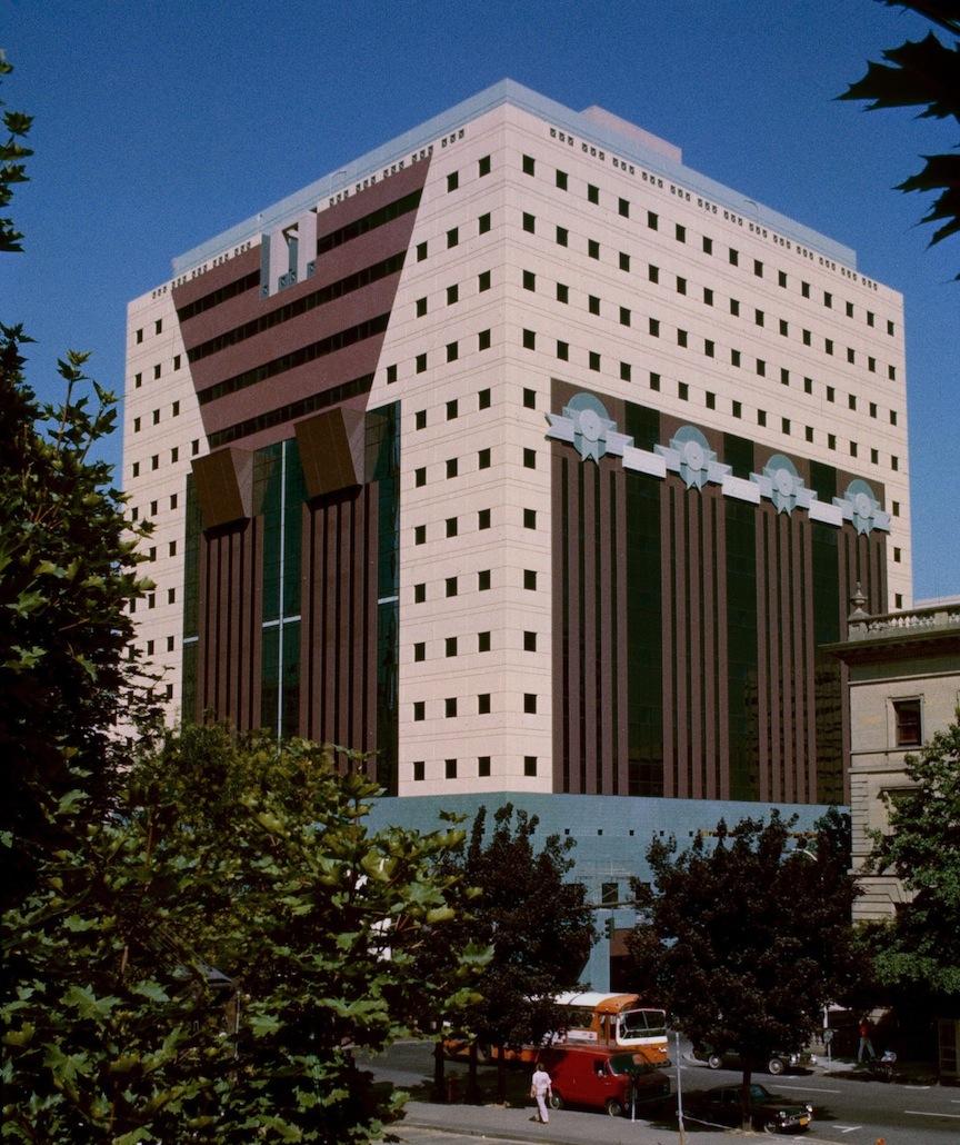 Portland Building in 1982   © Steve Morgan/Wikimedia