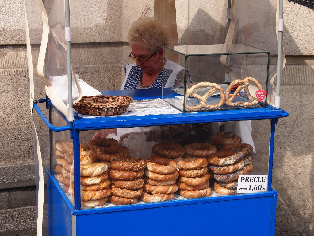 Pretzel stall in Krakow | © Paul Arps/Flickr