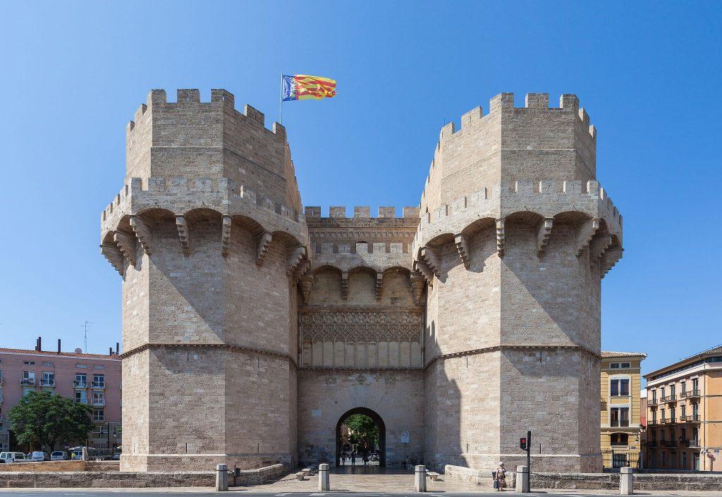 Puerta de los Serranos, Valencia | © Diego Delso/WikiCommons