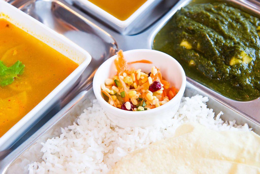 Madras Thali, Iyers Cafe | © Daragh Mc Sweeney/Provision