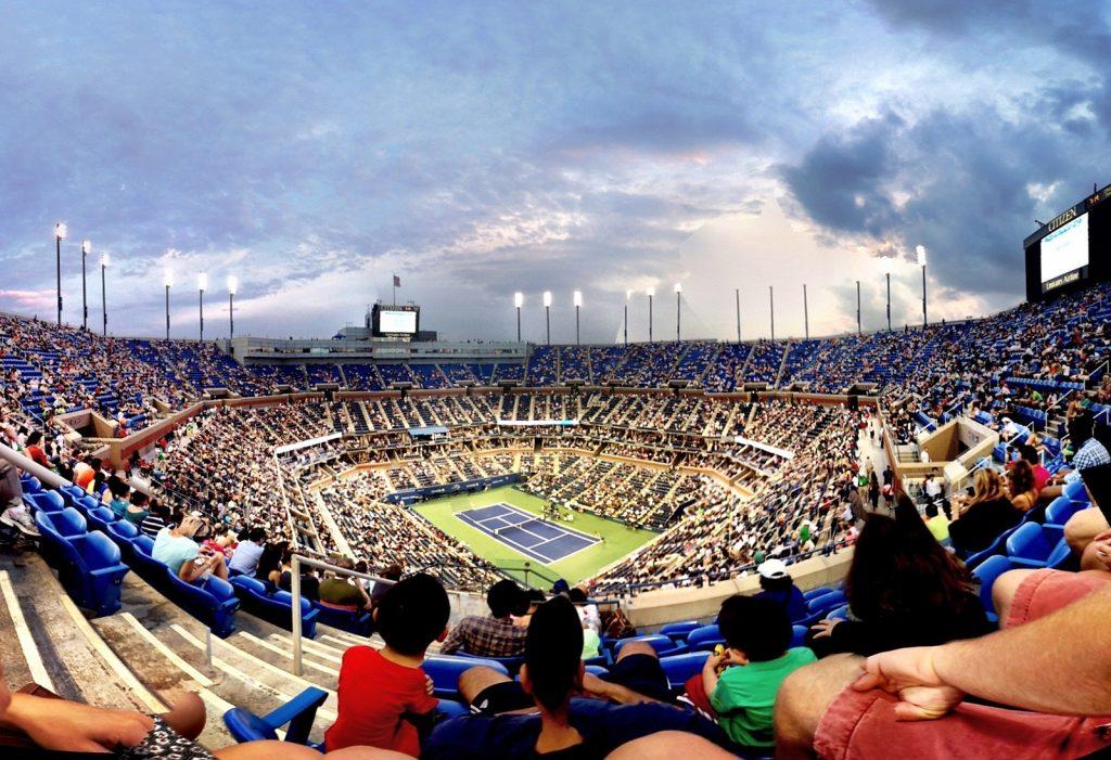 Arthur Ashe stadium, U.S Open | © Rasmus Zwickson/Flickr
