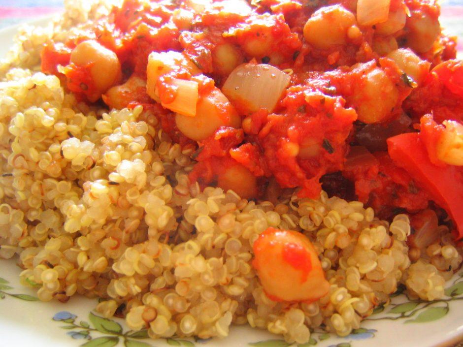 ratatouille and quinoa   ©rusvaplauke / Flickr