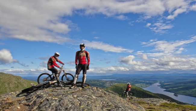 Biking in Sweden