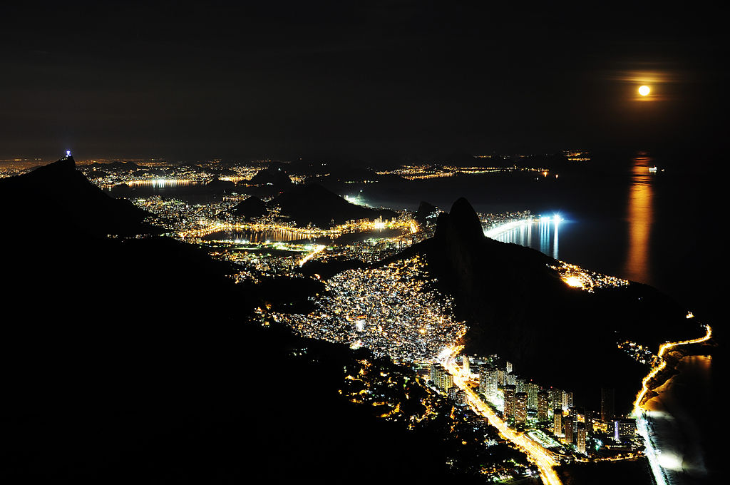 View from Gavea |©Alex MacDowell/WikiCommons